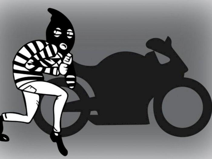 Dua Maling Sepeda Motor Tertangkap di Warnet di Padang Bulan, Setelah Sebulan jadi Buron