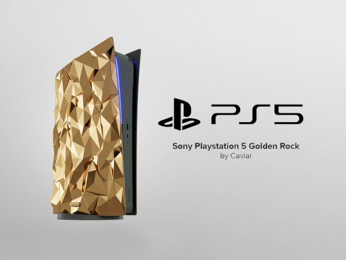 Caviar Bakal Rilis PlayStation 5 Berbalut Emas Seberat 20kg di Tahun 2021!