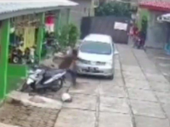 Apes, Niat Curi Motor 2 Pencuri Ini Malah Kehilangan Motor  Karena Takut Dipukuli Warga