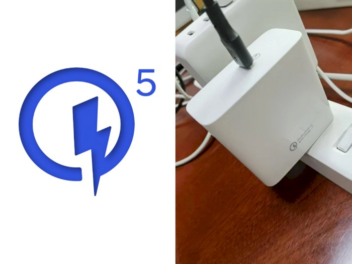 Penampakan Pertama dari Charger Qualcomm Quick Charge 5 Muncul di Internet!