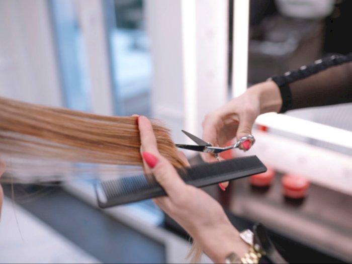 Hair Stylist Ini Punya Cara Potong Rambut yang Unik, Pakai Pisau Potong Daging