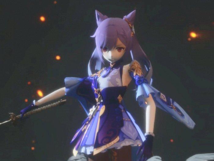 Seperti Ini Jadinya Jika Karakter Genshin Impact Hadir di Sekiro: Shadows Die Twice