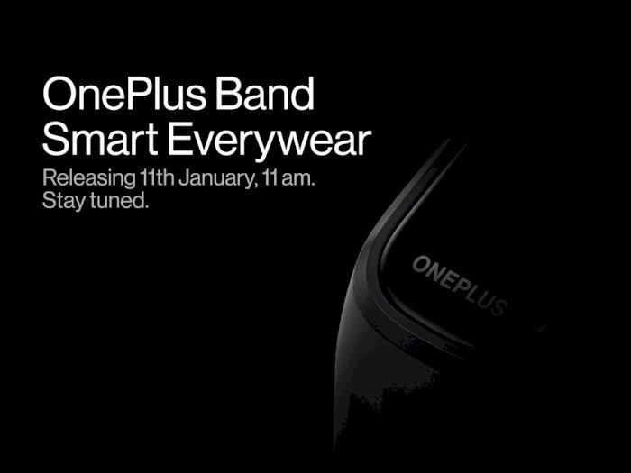 OnePlus Bakal Luncurkan Smartband Pertamanya Pada 11 Januari 2021 Nanti!