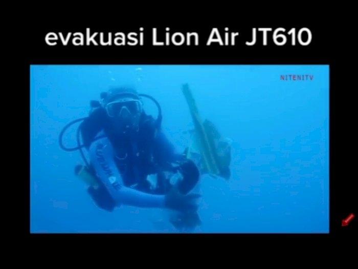 Viral Video Lawas Evakuasi Lion Air JT-610, Ada Suara Tangis di Dasar Laut Bikin Merinding