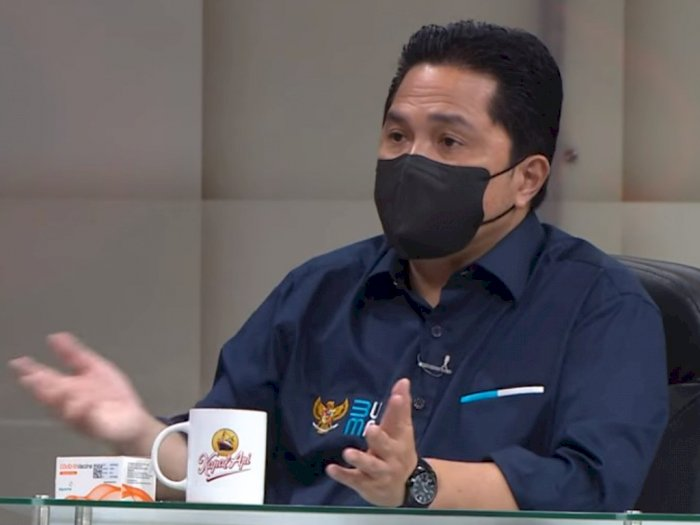 Jokowi Dituding Sandiwara Disuntik Vaksin Sinovac, Erick Thohir: Ini Kan Bukan Sinetron