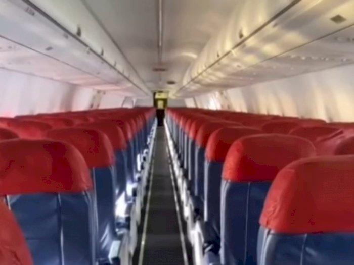 Pasca Sriwijaya Air Jatuh, Viral Lion Air Terbang Kosong Penumpang, Berisi Kru 7 Orang