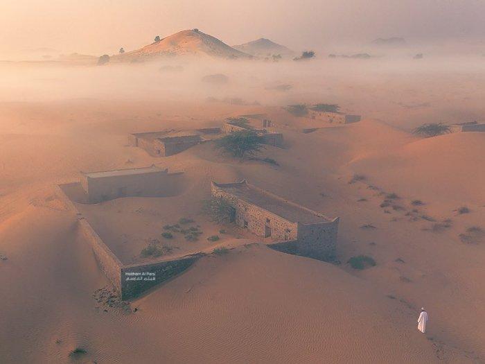 Ajaib, Desa Ini Kembali Muncul ke Permukaan Setelah 30 Tahun Hilang Ditelan Gurun Pasir