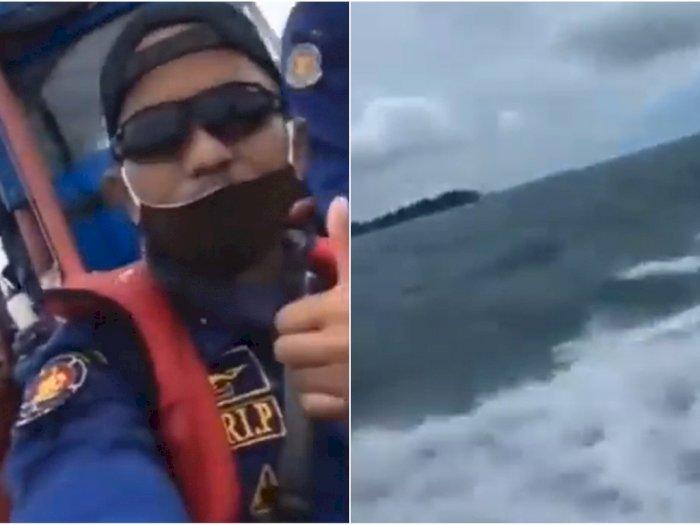 Merinding, Suara Jeritan Perempuan di Tengah Laut Lokasi Jatuhnya Sriwijaya Air SJ 182