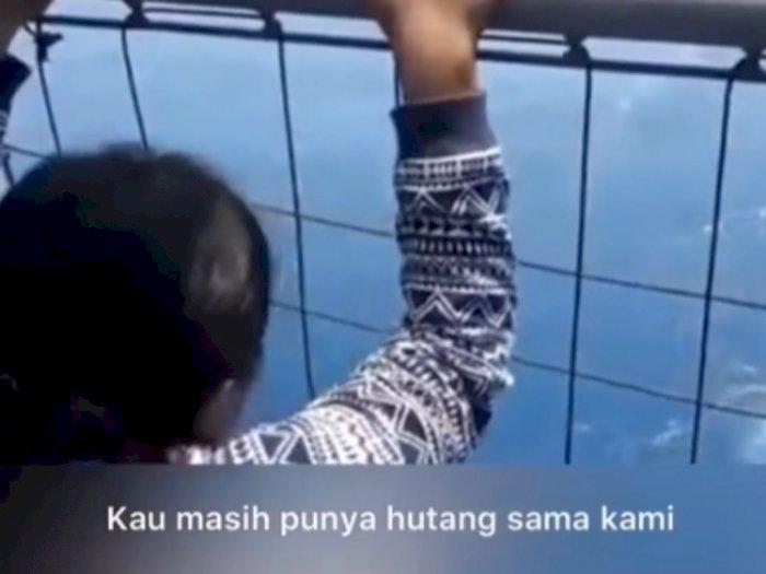 Viral Keluarga Penumpang Sriwijaya Air Nangis Histeris, Kau Masih Punya Utang!