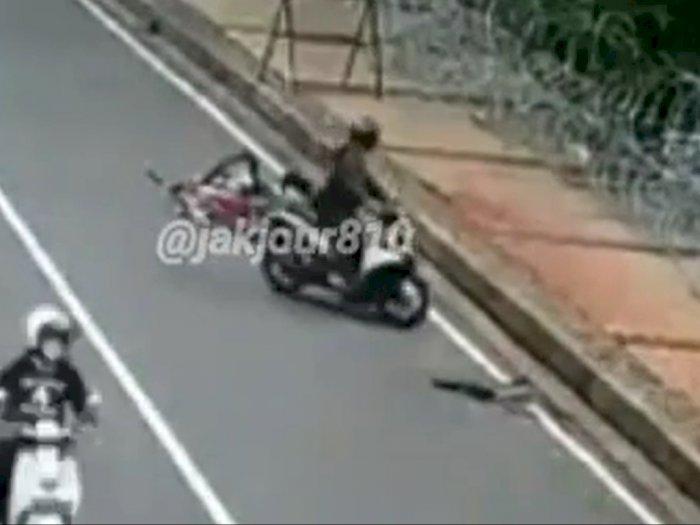 Buron 3 Bulan, DPO Begal Sepeda Marinir di Jakpus Ditangkap! Kedua Kaki Ditembak