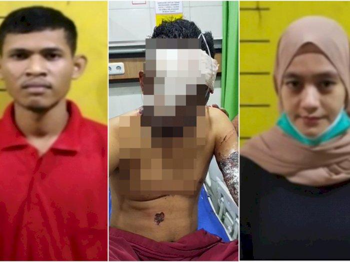 Terungkap, Motif Penyiraman Air Keras ke Pedagang Ikan di Medan, Ternyata Cinta Segitiga