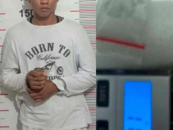 Simpan Sabu di Celana Dalam, Pria di Langkat Diringkus Petugas Polisi