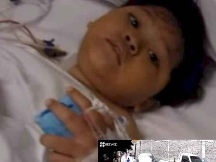 Terungkap Kondisi Terkini Adelio Bocah Dilindas Mobil CRV Saat Bermain, Operasi Tulang