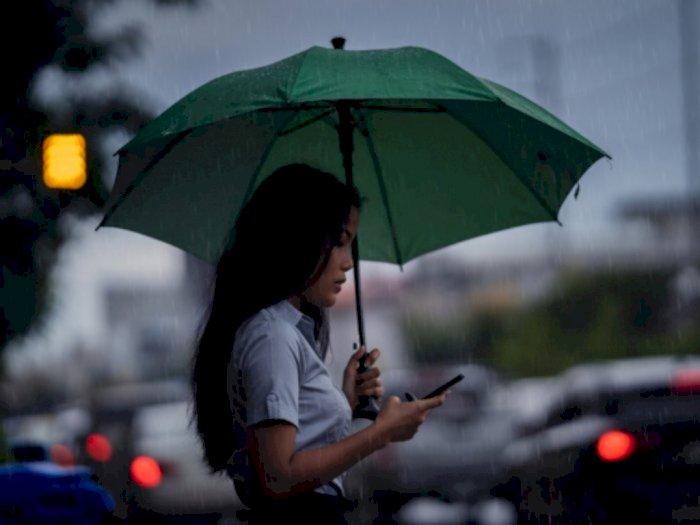 Waspadai Hujan Disertai Petir di DKI Jakarta Pada Hari Ini