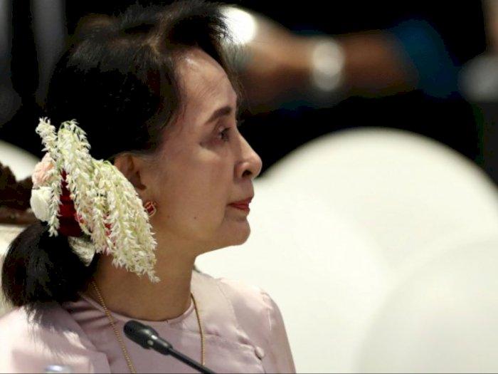 Keberadaan Aung San Suu Kyi Tak Diketahui Sejak Ditangkap Militer Myanmar
