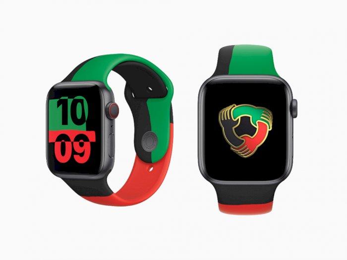 Rayakan Black History Month, Apple Rilis Apple Watch Series 6 Edisi Black Unity!
