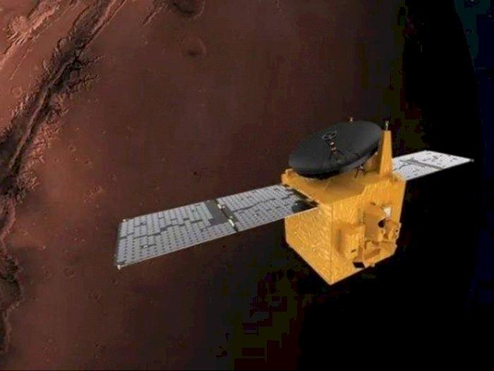 NASA, Tiongkok, & UEA Akan Capai Planet Mars dengan Pesawat Luar Angkasa Mereka Bulan Ini