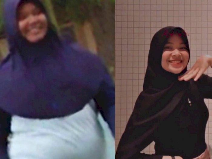 Bikin Pangling! Wanita Ini 'Glow Up' Parah Usai Sukses Diet dari 100 Kg Jadi 58 Kg