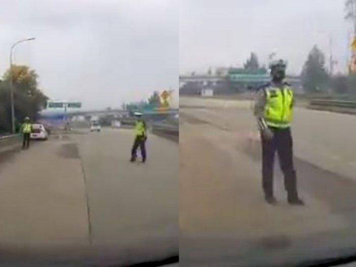 Video Viral Oknum Polantas Batal Tilang Pengendara usai Tahu Ada CCTV, 'Ya Sudah Jalan'