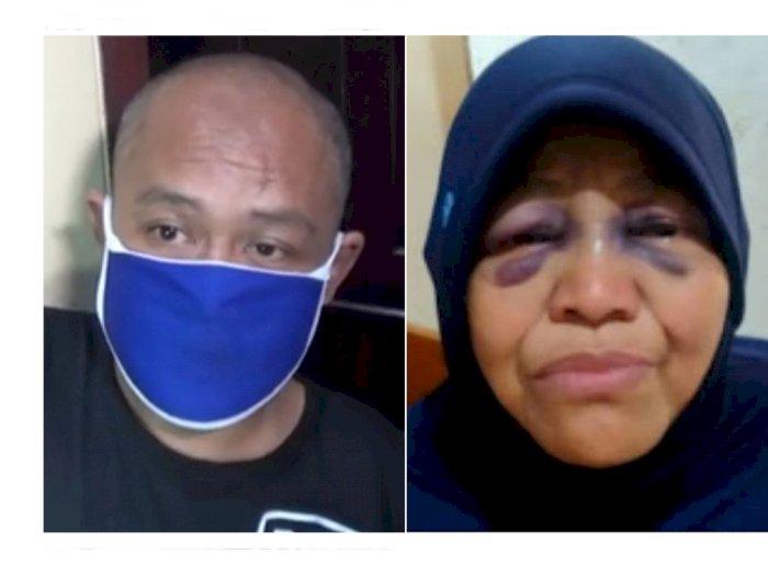 Anak Pukul Ibu Pakai Rotan Gara-gara Telat Nyalakan Obat Nyamuk, Wajah Ibunya Lebam