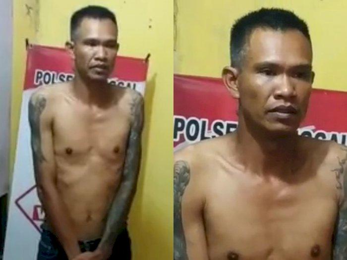 Preman yang Malak Pedagang Sate Akhirnya Diamankan Polisi dan Minta Maaf: 'Saya Menyesal'