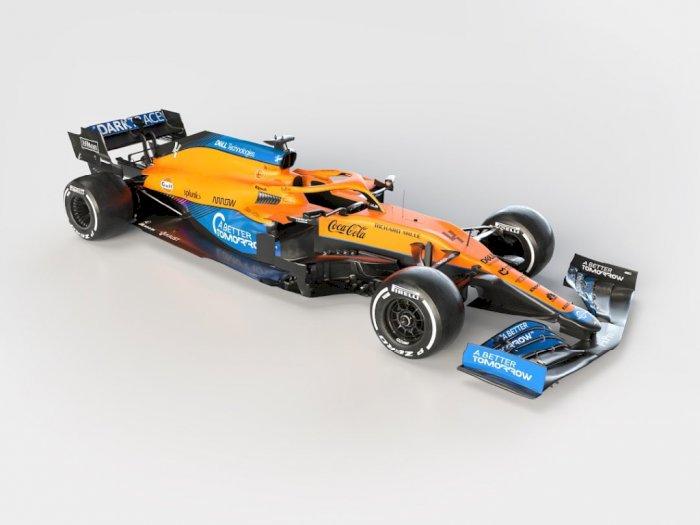 McLaren Melakukan Launching Tim Jelang F1 2021, Ini Tampilan Mobilnya!