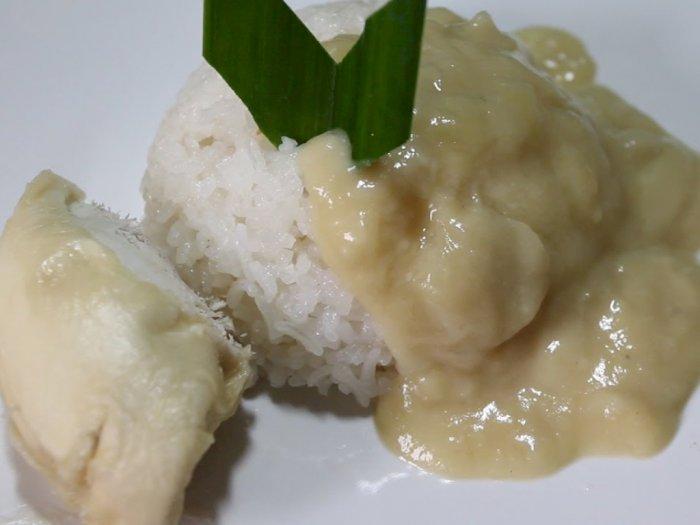 Cara Membuat Ketan Saus Durian, Perpaduannya Pas di Lidah!