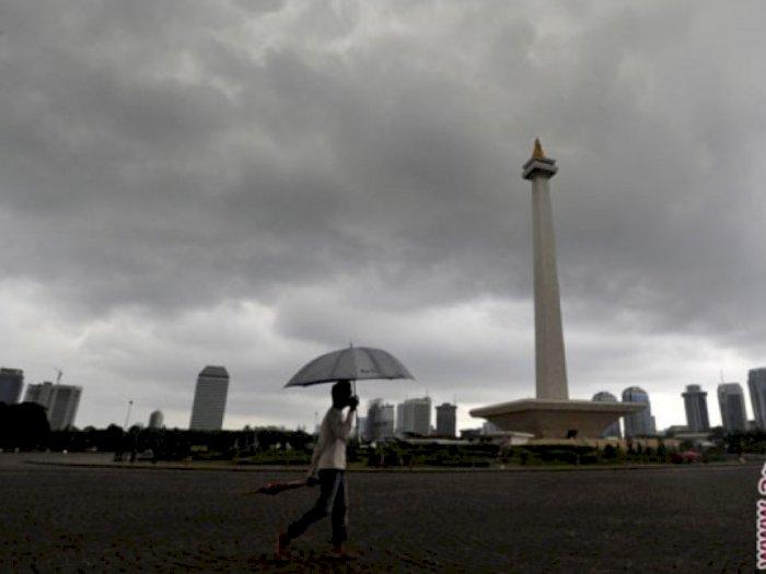 LAPAN Prediksi Cuaca Ekstrem di Jakarta Selama 2 Hari Kedepan, Tetap Waspada