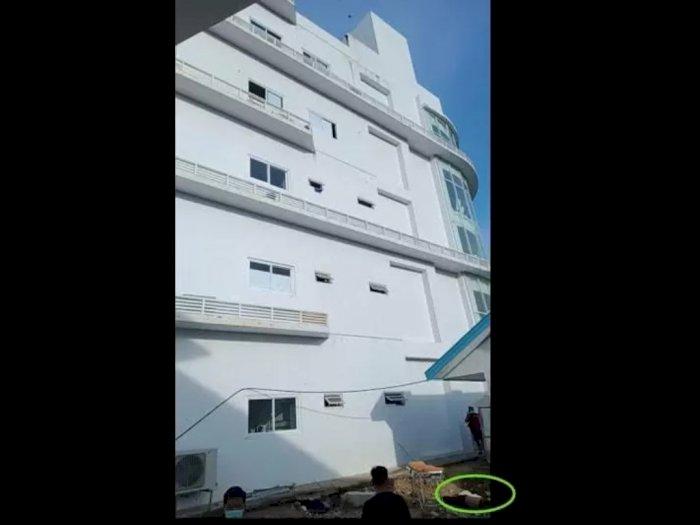 Seorang Pasien COVID-19 Tewas Mengenaskan Setelah Terjun Dari Lantai 5 Rumah Sakit