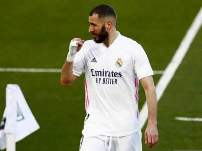 Zidane Pastikan Karim Benzema Tak Turun Lapangan Lawan Atalanta Akibat Cedera
