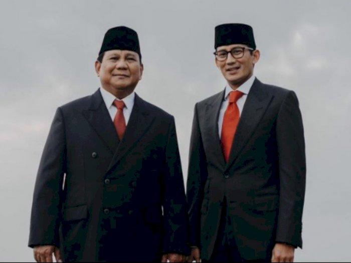 Survei LSI: Prabowo Subianto dan Sandiaga Uno Jadi Menteri Paling Memuaskan