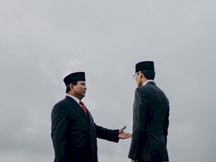 Prabowo Subianto dan Sandiaga Uno Jadi Menteri Jokowi yang Kinerjanya Paling Memuaskan