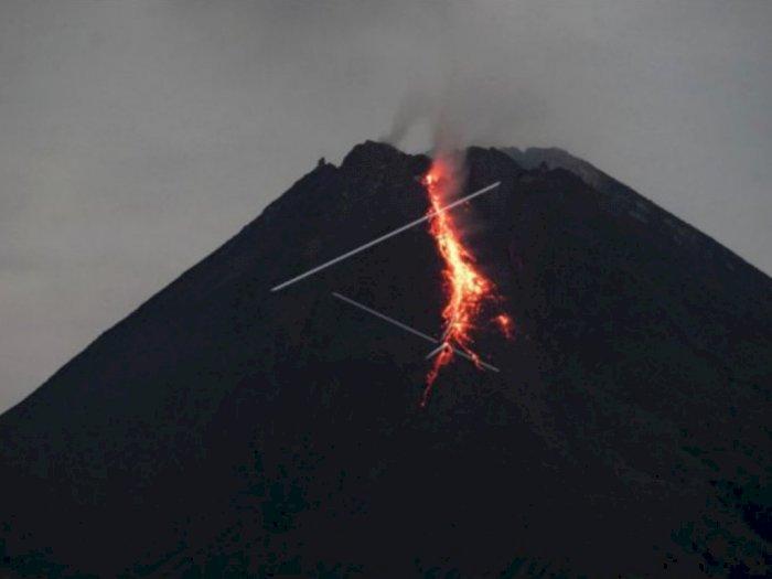31 Kali Gempa Guguran Gunung Merapi, Jarak Luncur Sampai 1.200 meter