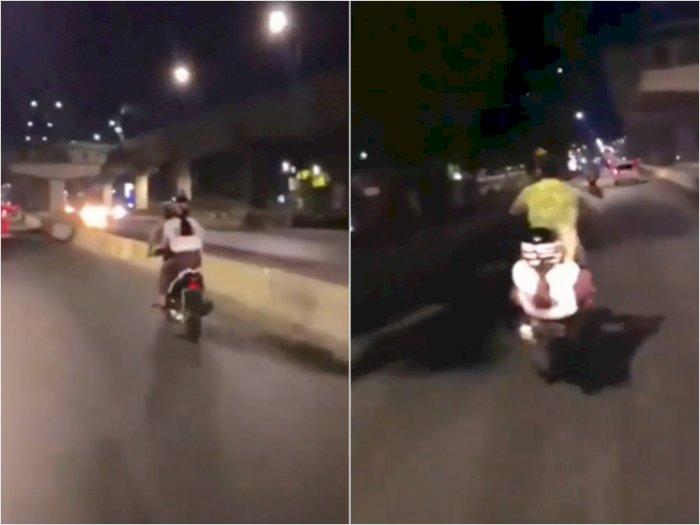 Pasangan Muda Ugal-ugalan Lakukan Freestyle di Jalan, Bikin Publik Geleng-geleng Kepala