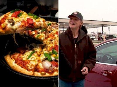 Bukan Uang, Pengantar Pizza Ini Dapat Tip Tak Terduga dari Pelanggannya