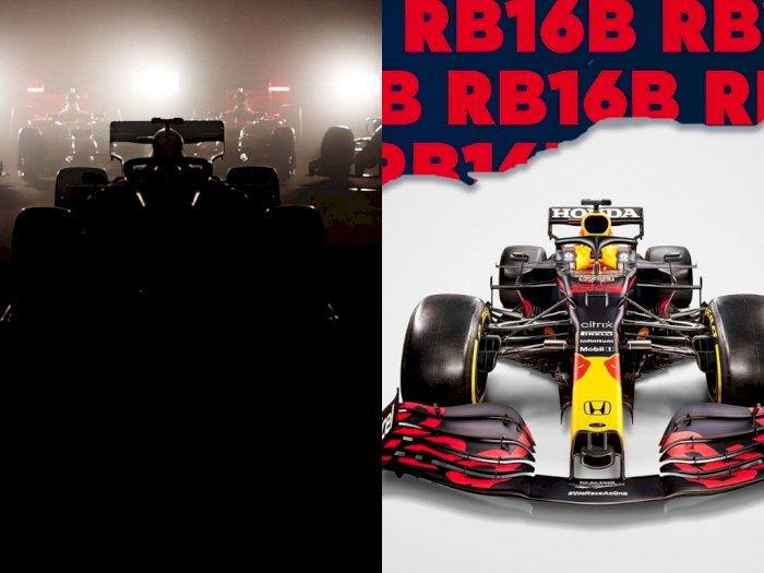 Jelang F1 2021, Red Bull Racing Meluncurkan Tampilan Mobil Balapnya
