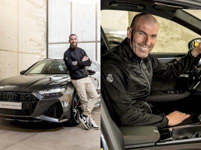 Para Pemain Real Madrid Mendapat Mobil Audi Gratis, Zizou & Ramos Dapat Audi RS6!