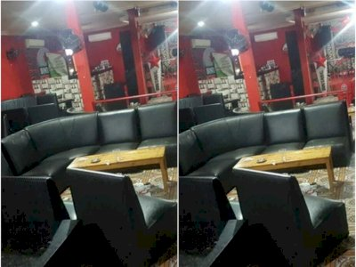 Langgar Pergub, Satpol PP Tutup Sementara Kafe RM Tempat Terjadinya Penembakan