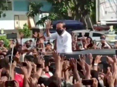 Soal Kerumunan Jokowi di Maumere, PDIP Nilai Tidak Ada Unsur Kesengajaan