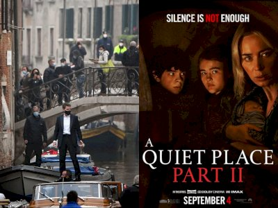 Film 'Mission Impossible 7' serta 'A Quiet Place Part II' akan Ditayangkan di Paramount+