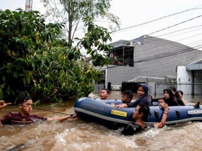 Siaga, BMKG Ingatkan Potensi Banjir Bandang di Jabodetabek hingga Jawa
