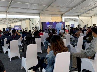 Hari ke-2 Vaksin untuk Awak Media, 500 Jurnalis di Jakarta Mulai Padati Kawasan GBK