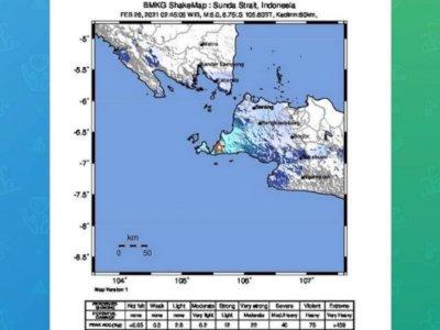 Gempa Bumi M 5,1 Guncang Pandeglang, BMKG: Tidak Berpotensi Tsunami