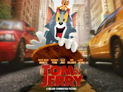 Sinopsis 'Tom and Jerry' (2021) - Pertarungan Sengit antara Tom dan Jerry