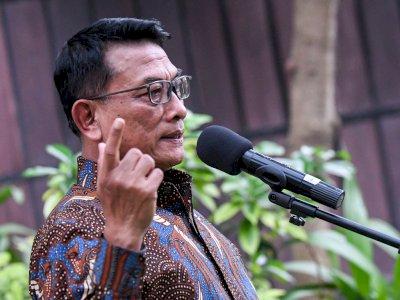 Kisruh dengan SBY, Moeldoko: Jangan Menekan Saya!