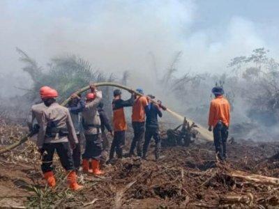 Cegah Karhutla, TNI Gencarkan Penyuluhan di Nagan Raya Aceh