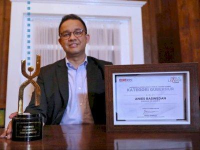 Dalam Sehari, Anies Baswedan Raih 3 Penghargaan Sekaligus