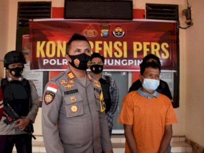 Gara-gara Puntung Rokok, Pria di Tanjungpinang ini Jadi Tersangka Kebakaran Hutan