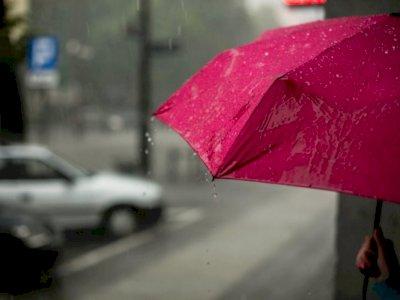 Jumat, Cuaca Jakarta Diperkirakan Hujan Sepanjang Hari