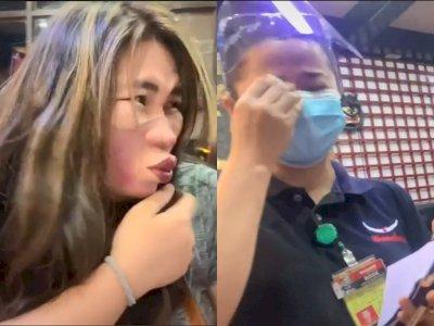 Kocak, Masker Wanita Ini Buat Pelayan Restoran Tertawa Hingga Nangis, Netizen: Aku Bengek